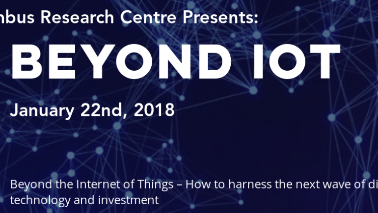 Beyond the Internet of Things – Event