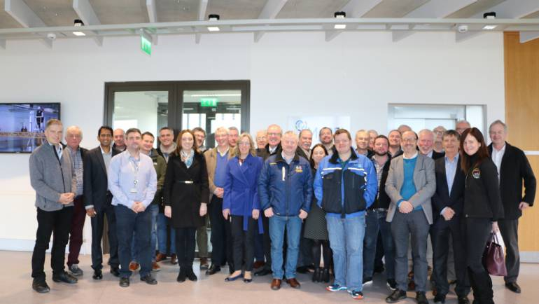 The Irish Marine Industry Network visits Cork & NMCI