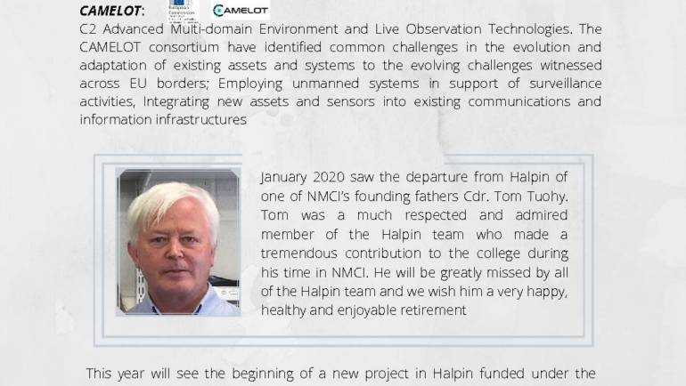 Halpin Newsletter Issue 4 April 2020
